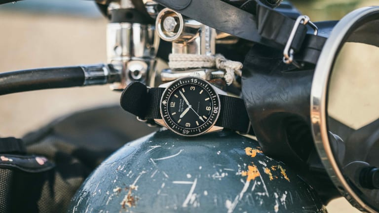Hodinkee adds the Fifty Fathoms Bathyscaphe to its coveted range of collaborations