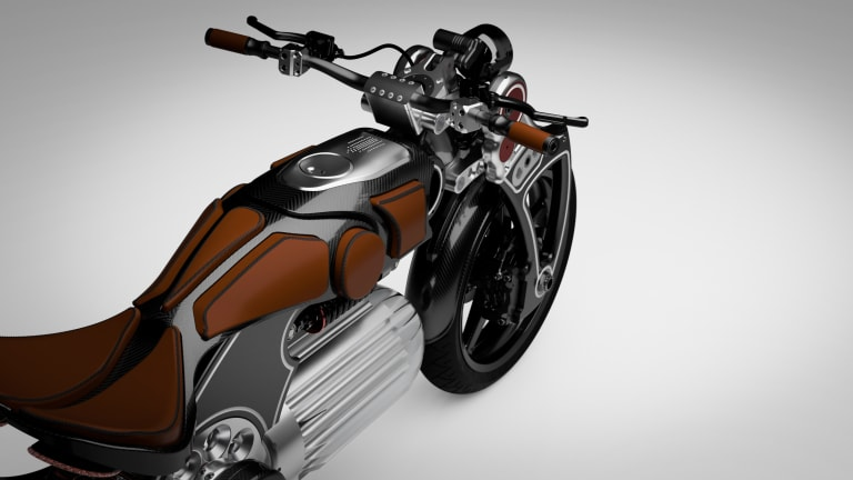Curtiss Motorcycles unveils the Hades