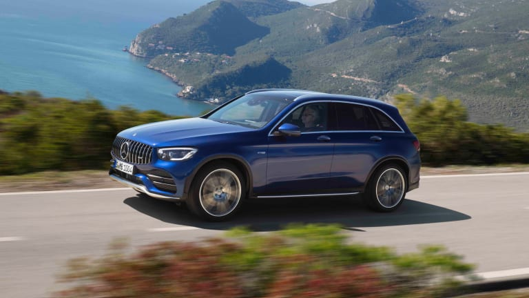 Mercedes-AMG introduces the new GLC 43 SUV and Coupe