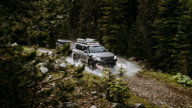 Lexus turns the GX into an off-roading trail machine