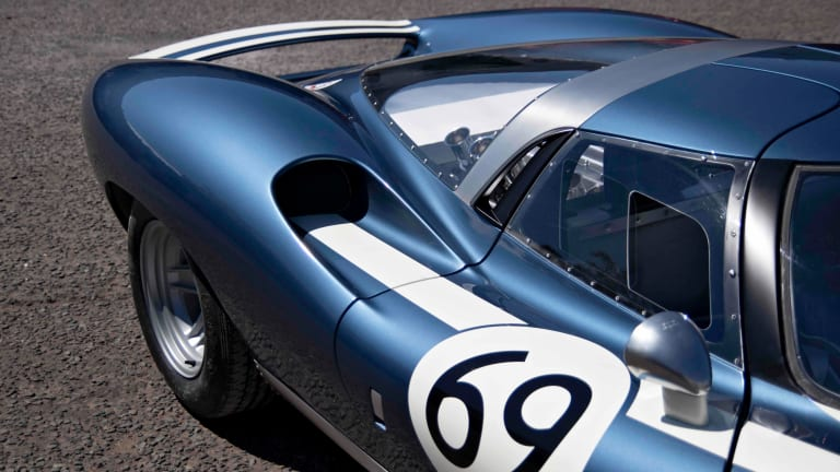 The Ecurie Ecosse LM69 pays tribute to Jaguar's XJ13 prototype