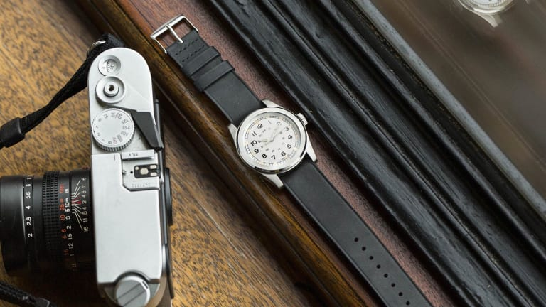 Serica's first watch pays homage to vintage military timepieces