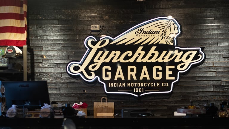 Indian Motorcycle opens the Lynchburg Garage