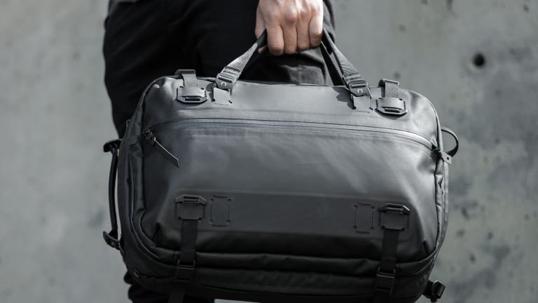 Black Ember's Forge pack is a 3-in-1 that can instantly transform into a spacious travel bag