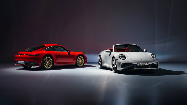 Porsche reveals the entry-level 2020 911 Carrera
