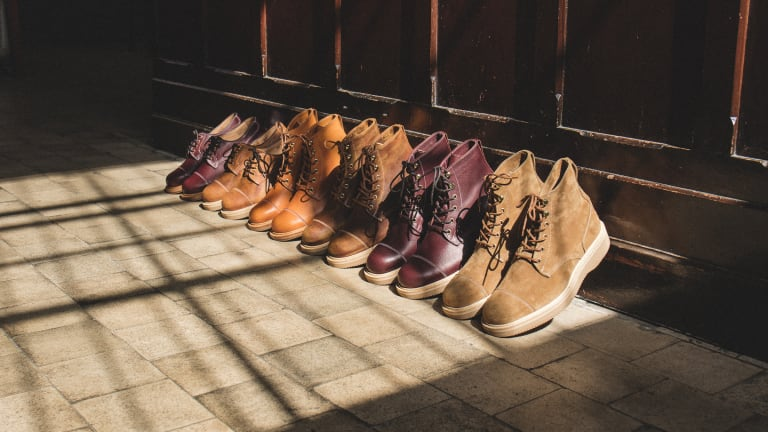 Tricker's and The Bureau Belfast present a new footwear collection for FW19
