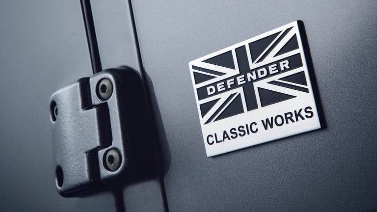 Land Rover Classic launches upgrade kits for the Defender 90 and 110