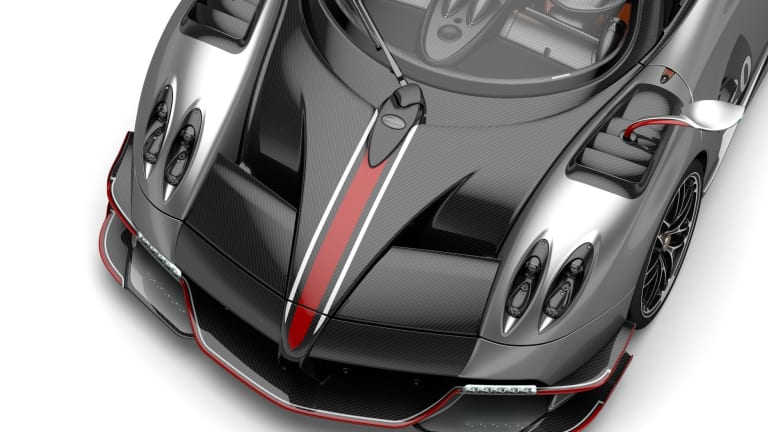 Pagani launches the 800-hp Huayra Roadster BC