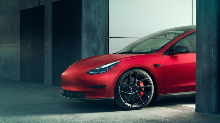 NOVITEC introduces a range of components for the Tesla Model 3
