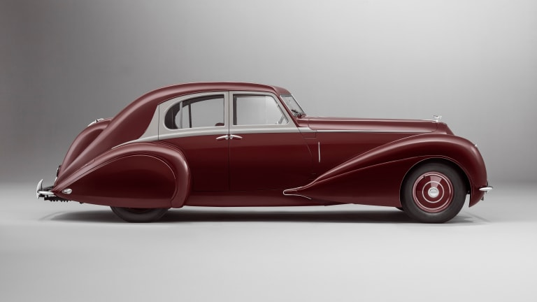 Bentley's Mulliner division restores a once lost 1939 Corniche