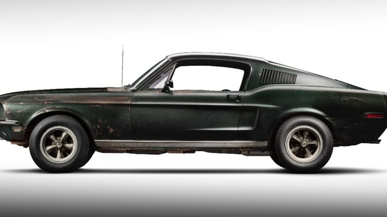 Frank Bullitt's famous Mustang is going up for sale next year