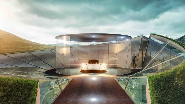 Aston Martin reveals its Automotive Galleries and Lairs