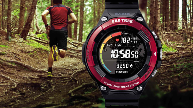 Casio adds a heart rate monitor to its latest Pro Trek