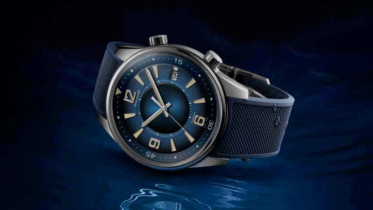 Jaeger-LeCoultre debuts a new hand-lacquered dial for the Polaris Date