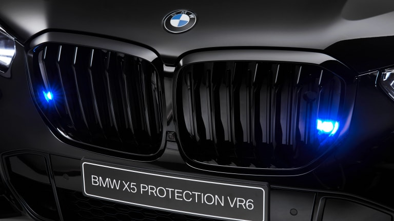 The BMW X5 Protection VR6 is built for the hairiest of situations