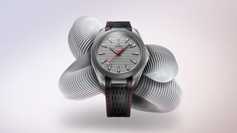 "Omega's new Seamaster Aqua Terra ""Ultra Light"" is their first watch to use Gamma Titanium"