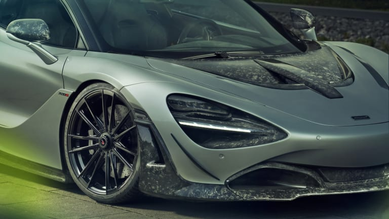 Novitec brings a forged carbon fiber upgrade package to the McLaren 720S
