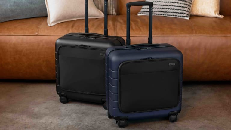 Away's Daily Carry-On is the perfect option for business trips