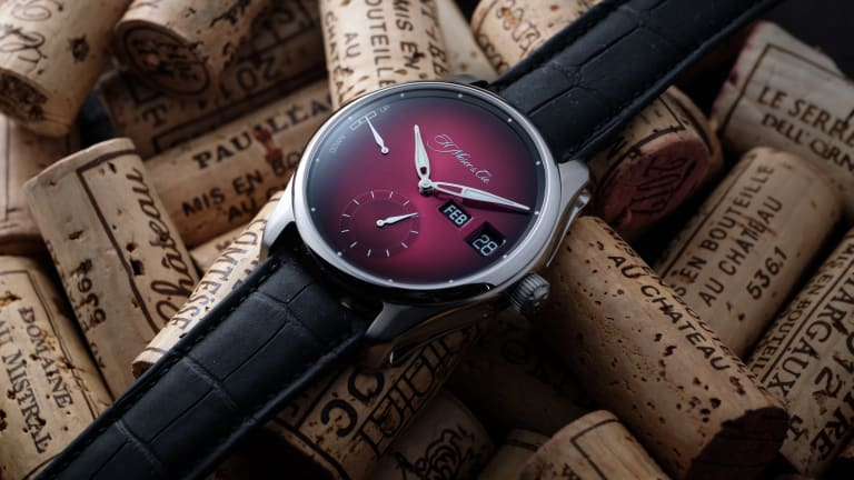 H. Moser & Cie adds a dual window display to its new perpetual calendar