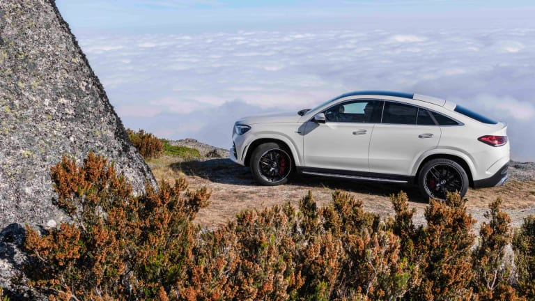 Mercedes' new GLE 53 aims to create the  perfect balance of capability and coupe-like performance