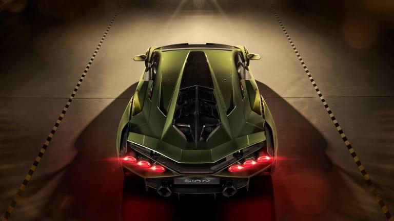 Lamborghini reveals its hybrid hypercar, the Sián