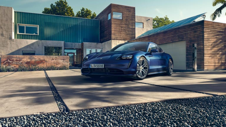 Porsche reveals the highly-anticipated, all-electric Taycan