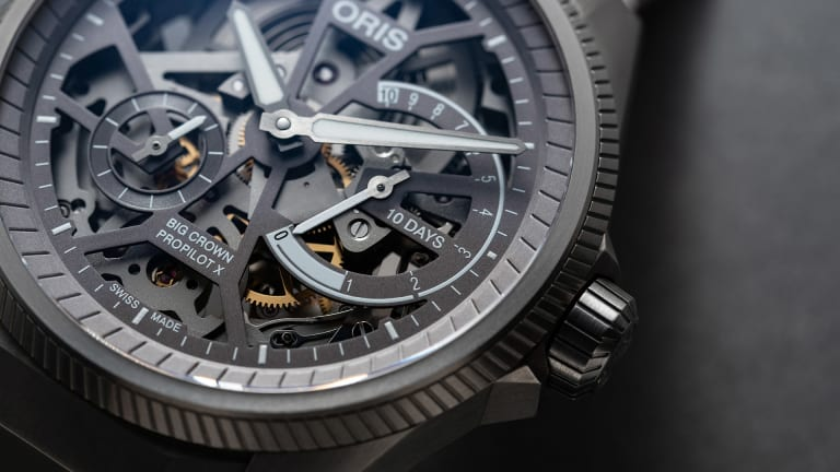 Oris shows off their mechanical muscle with the new Big Crown ProPilot X