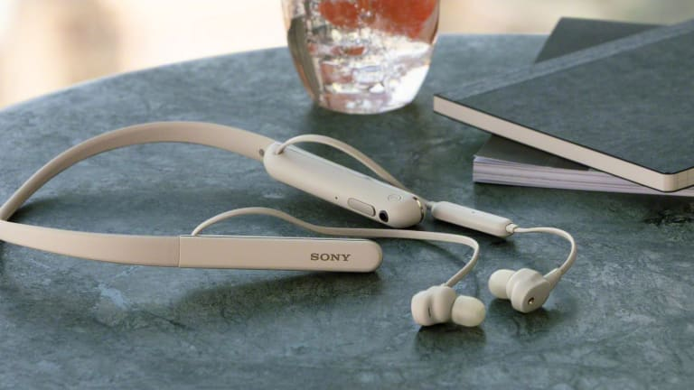 Sony adds a neckband headphone to the popular 1000XM family