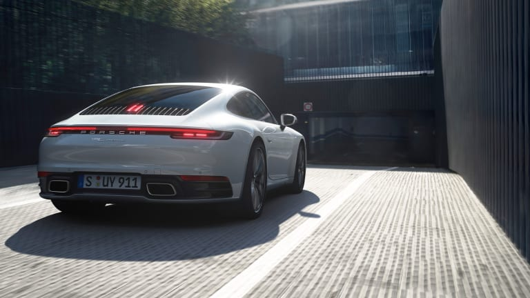 Porsche unveils the 2020 911 Carrera 4