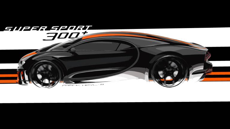 Bugatti announces production of the $4,000,000 Chiron Super Sport 300+