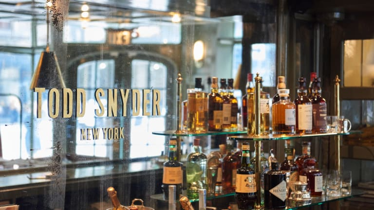 Todd Snyder takes over the former J.Crew Liquor store