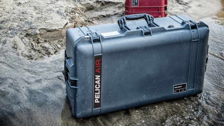 Pelican's Air Travel line turns the company's iconic cases into a rugged range of luggage