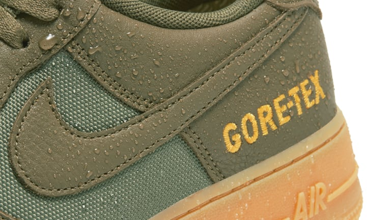 The Nike Air Force 1 gets ready for the winter with a new Gore-Tex lining
