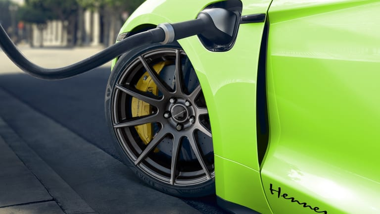 Hennessey announces plans to work on its first EV, the Porsche Taycan