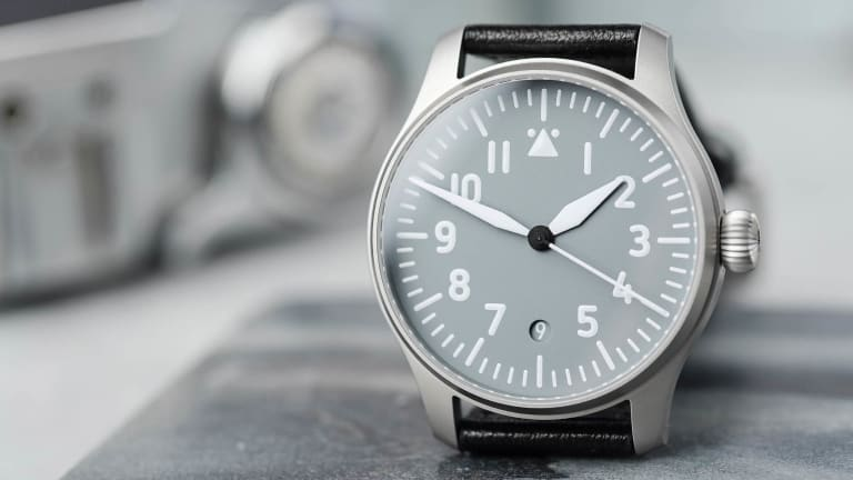 Worn & Wound and Stowa team up for a modern take on the Type A flieger watch