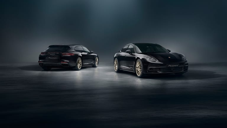Porsche marks 10 years of the Panamera with a new special edition