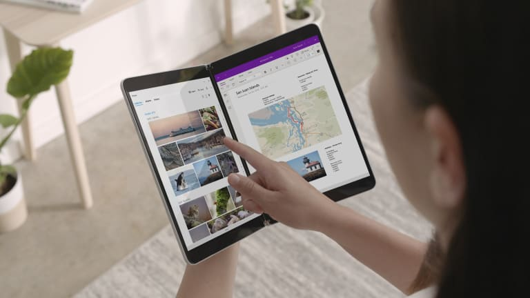 Microsoft reveals a dual screen tablet and a dual screen phone