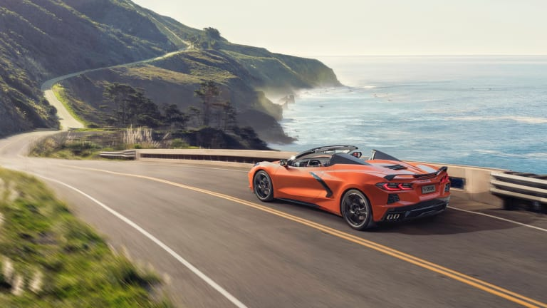 Chevrolet announces the first hardtop Corvette convertible