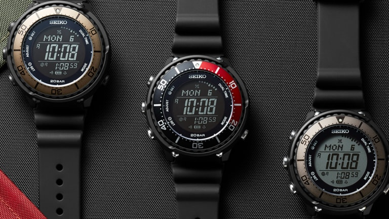 Lowercase releases a new trio of Seiko Prospex watches