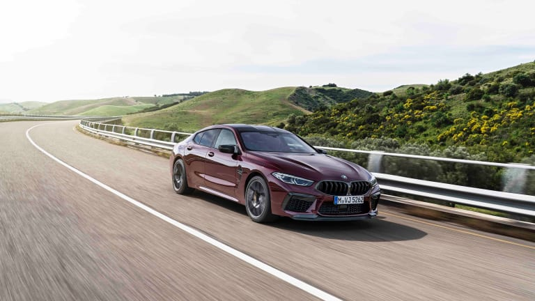 BMW's new M8 Gran Coupe brings the four-door fury