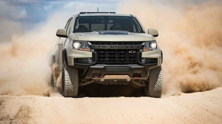 Chevrolet debuts a rugged new look for the 2021 ZR2 Colorado