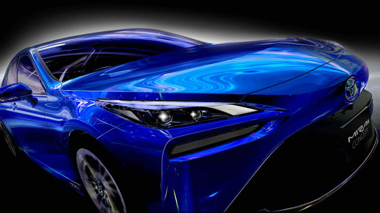 Toyota's hydrogen-powered Mirai is getting a major redesign