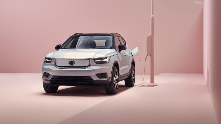 Volvo reveals its first-ever EV, the XC40 Recharge