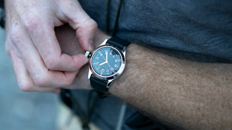 Mk II launches a new variant of its Navy-inspired Cruxible watch
