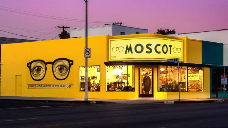 Moscot is headed west for its first store in Los Angeles