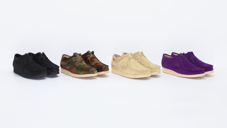 Supreme and Clarks weatherizes the Wallabee for their latest collaboration