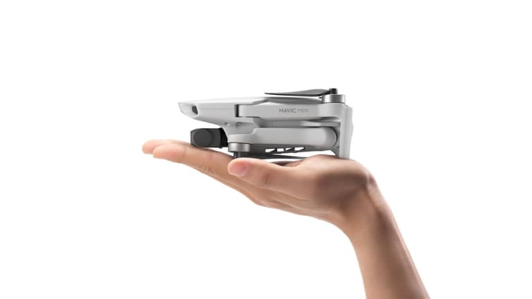 DJI's latest Mavic fits in the palm of your hand