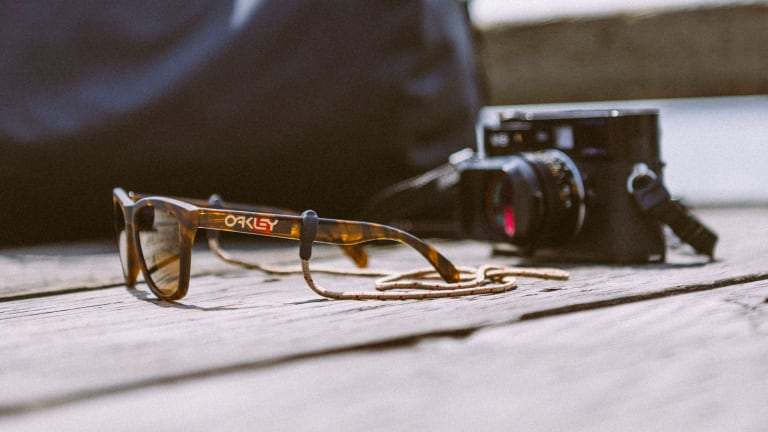 Herschel and Oakley share their love for the coast with their new Frogskins collaboration