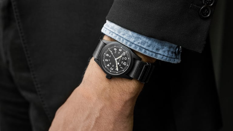 Hamilton releases the Khaki Field Mechanical in a new Black PVD finish