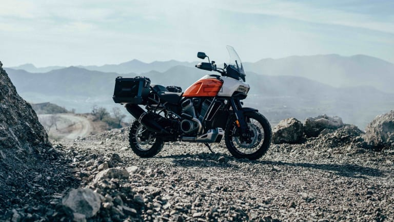 Harley Davidson introduces its first adventure touring bike and streetfighter